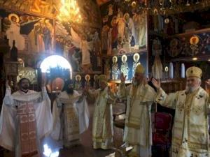 Света архијерејска Литургија у Манастиру Светог Преображења Господњег на Теодорову суботу