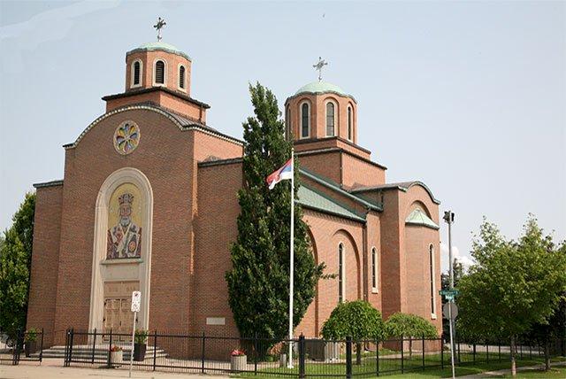 Црква светог Оца Николе у Хамилтону - Бартон