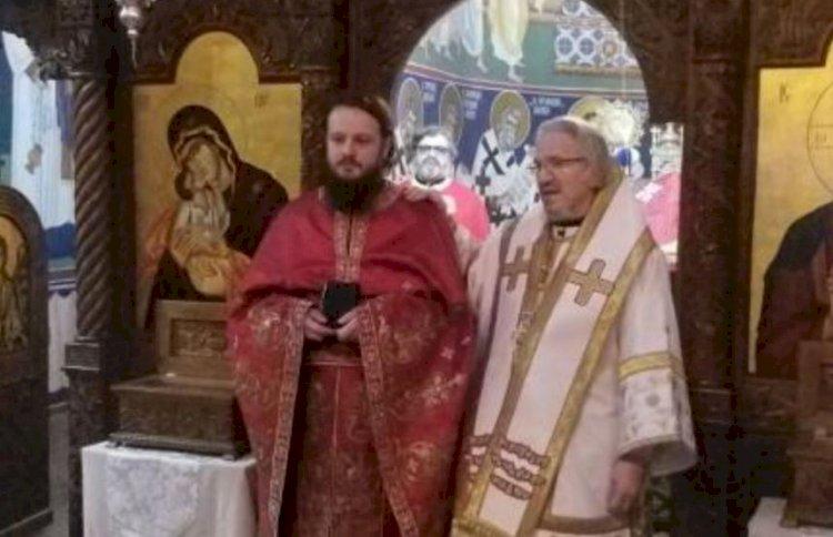 Света Архијерејска Литургија и рукоположење у манастиру Преображења Господњег у Милтону