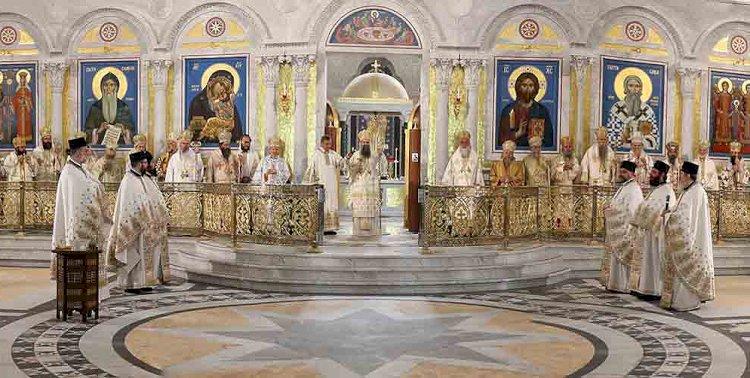 Молитвени почетак Светог Архијерејског Сабора